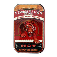 Newman's Own Organic Cinnamon Mints