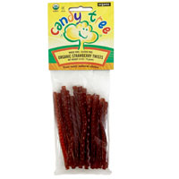 Organic Strawberry Licorice Twists