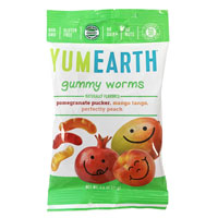 YumEarth Assorted Gummy Worms * 2.5 OZ