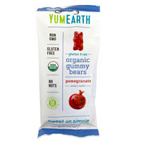 YumEarth Pomegranate Gummy Bears * 2 OZ