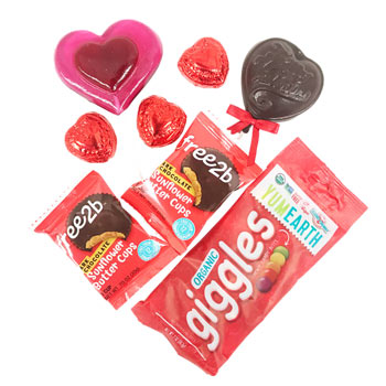 Allergy-Friendly Individual Valentine Gift Bag