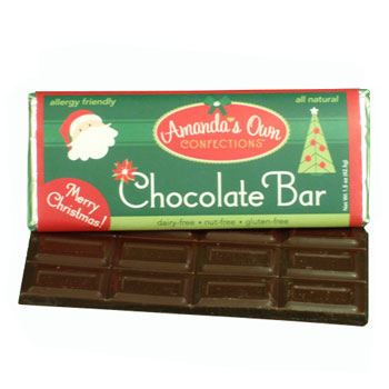 Allergy-Friendly Holiday Chocolate Bar