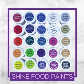 TruColor Natural Shine Food Paints