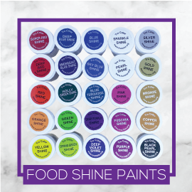 TruColor Natural Shine Food Paints