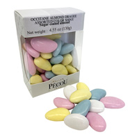 French Almond Dragees (All-Natural Jordan Almonds)