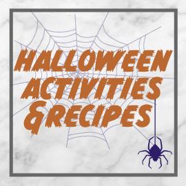 Halloween Activities & Recipes Logo