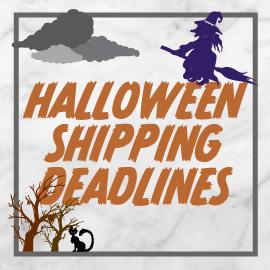 Halloween Shipping Deadlines Logo