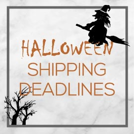 Halloween Shipping Deadlines