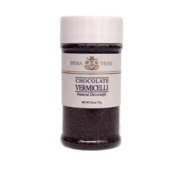 Chocolate Vermicelli Natural Sprinkles * 2.6 OZ