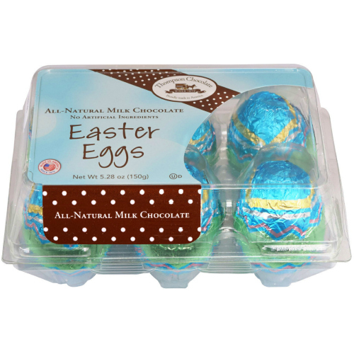Jumbo Milk Easter Chocolate Eggs * 1/2 DOZEN