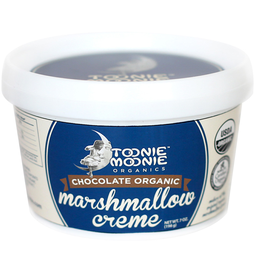 Toonie Moonie Organic Marshmallow Creme - Chocolate * 7 OZ
