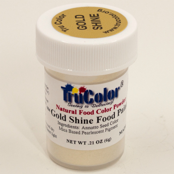 Gold Shine Natural Food Paint by TruColor