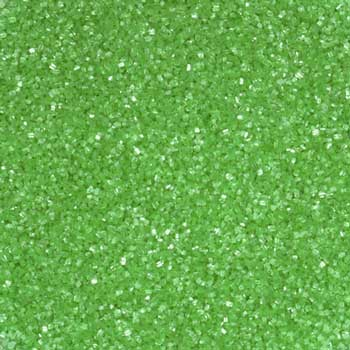Natural Sanding Sugar - Spring Green * 8 OZ