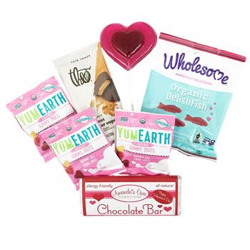 Vegan Individual Valentine Gift Bag