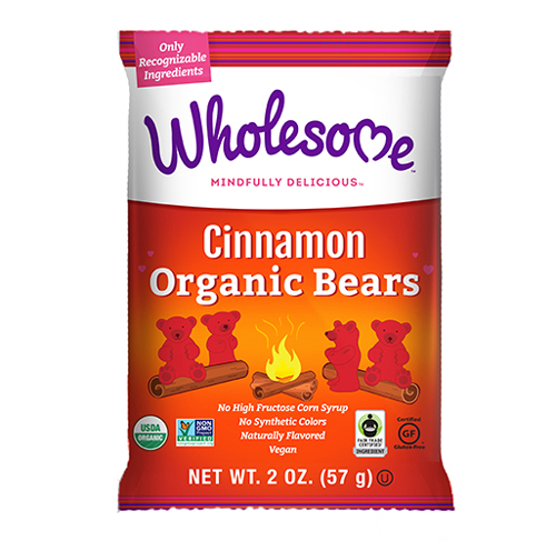 Cinnamon Organic Bears - 2 OZ Bag