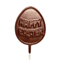 Allergy-Friendly Chocolate Easter Egg Lollipop