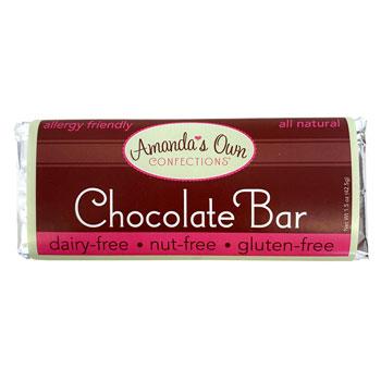 Allergy-Friendly Chocolate Bar