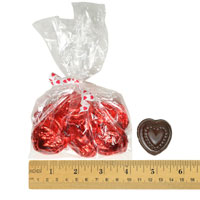 Allergy Friendly Chocolate Hearts