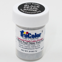 Black Pearl Shine Natural Food Paint