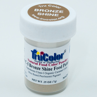 Bronze Shine Natural Food Paint