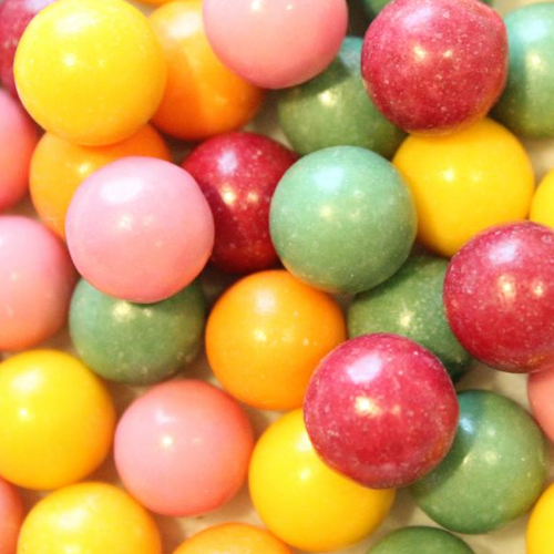 Bulk Unwrapped Natural Gumballs (16 mm)