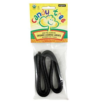 Organic Black Licorice Lariats (Ropes)