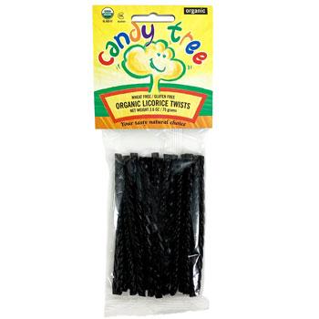 Organic Black Licorice Twists