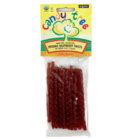 Organic Raspberry Licorice Twists