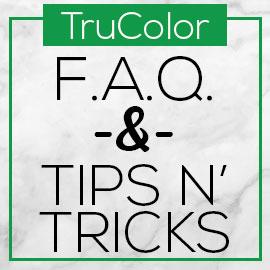 TruColor FAQ & Tips n' Tricks Logo