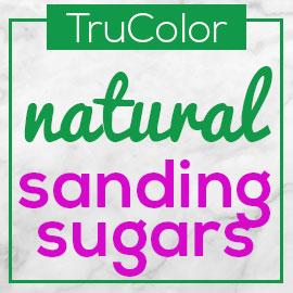 TruColor Natural Sanding Sugars