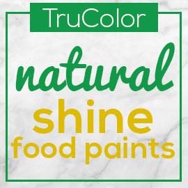 TruColor Natural Shine Food Paints Logo