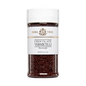 Chocolate Vermicelli Natural Sprinkles
