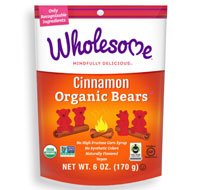 Cinnamon Organic Bears - 6oz Bag