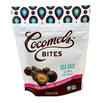 Chocolate-Covered Cocomel Bites - Sea Salt * 3.5 OZ
