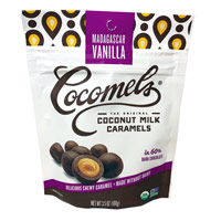 Chocolate-Covered Cocomel Bites - Vanilla * 3.5 OZ