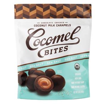 Chocolate-Covered Cocomel Bites - Sea Salt * 3.5 OZ