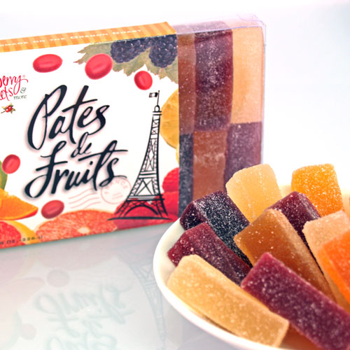 Assorted Fruit Jelly Candy (Pates de Fruits)