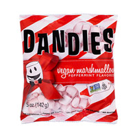Mini Dandies Vegan Marshmallows - Peppermint * 5 OZ