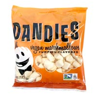 Mini Dandies Vegan Marshmallows - Pumpkin * 5 OZ