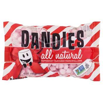 Mini Dandies Vegan Marshmallows - Peppermint * 5 OZ