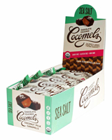Dark Chocolate Covered Cocomels -  Sea Salt