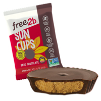 Dark Chocolate Sun Cups (Singles)