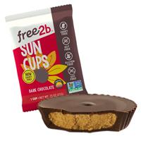 Dark Chocolate Sun Cups (Singles)