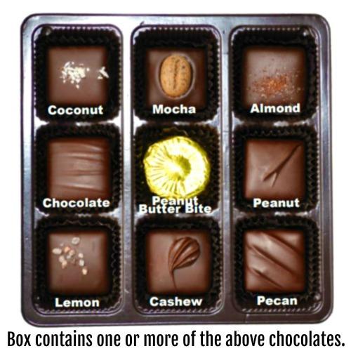 Vegan Dark Chocolate Nuts & Chews * GIFT BOX