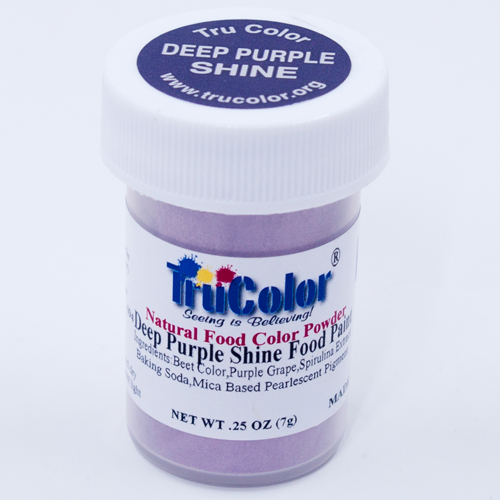 Deep Purple Shine Natural Food Paint
