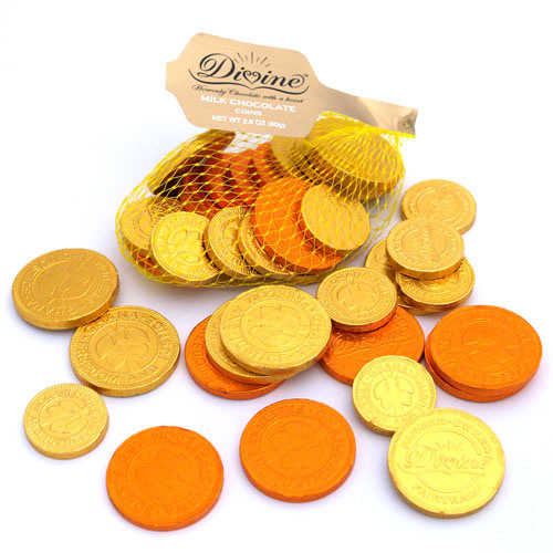 Milk Chocolate Coins - Fair Trade