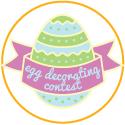2021 Easter Egg Natural Decorating Contest Logo