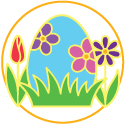 Natural Candy to Fill Easter Eggs Logo