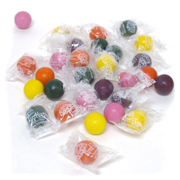 Individually Wrapped Natural Gumballs - Fantastic Fruit Mix
