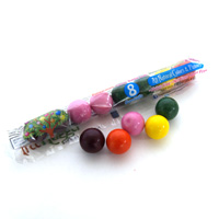 Natural Gumballs Tube - Fantastic Fruits